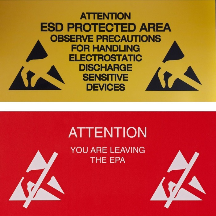 EPA Signs and Floor Marking