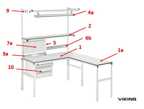 Dissipative bench - Classic range