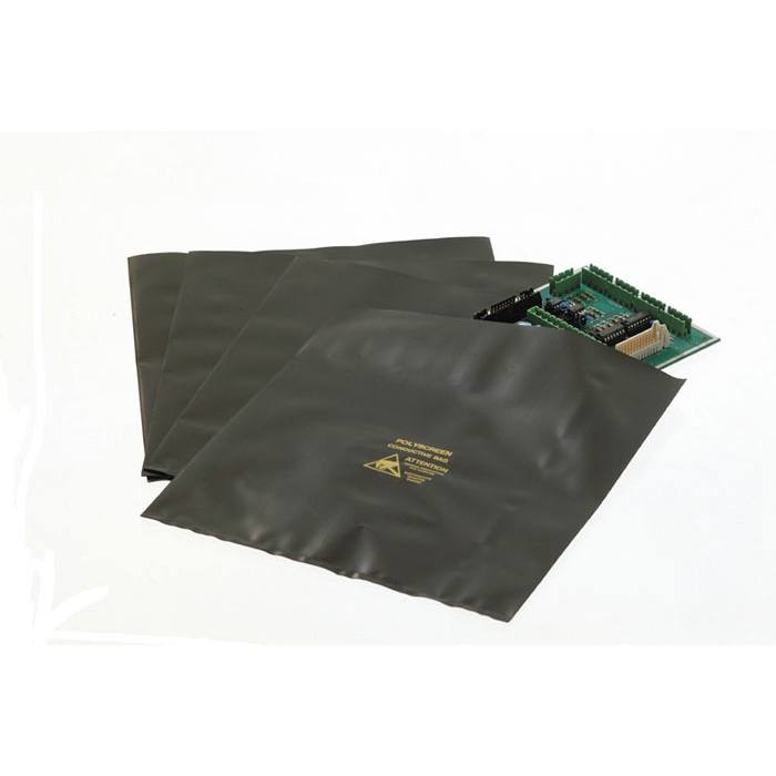 ELECTROSTATIC CONDUCTIVE BLACK - OPEN TOP BAGS