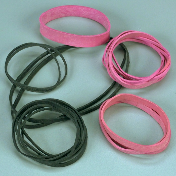 ELECTROSTATIC DISSIPATIVE RUBBER BANDS