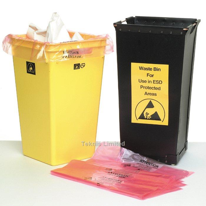 ELECTROSTATIC CONDUCTIVE WASTE BINS
