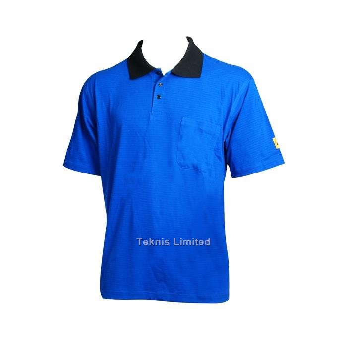 ELECTROSTATIC DISSIPATIVE POLO SHIRTS